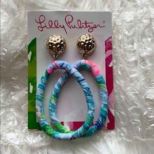Never worn Lilly Pulitzer earrings
